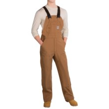 Carhartt Flame-Resistant Duck Bib Overalls - Unlined (For Men) in Carhartt Brown - 2nds