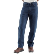 Carhartt Flame-Resistant Jeans - Relaxed Fit, Straight Leg (For Men) in Denim - Closeouts