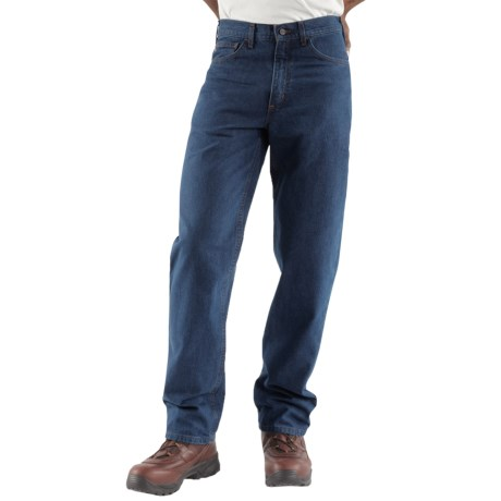 Carhartt Flame-Resistant Jeans - Relaxed Fit, Straight Leg (For Men) in Denim
