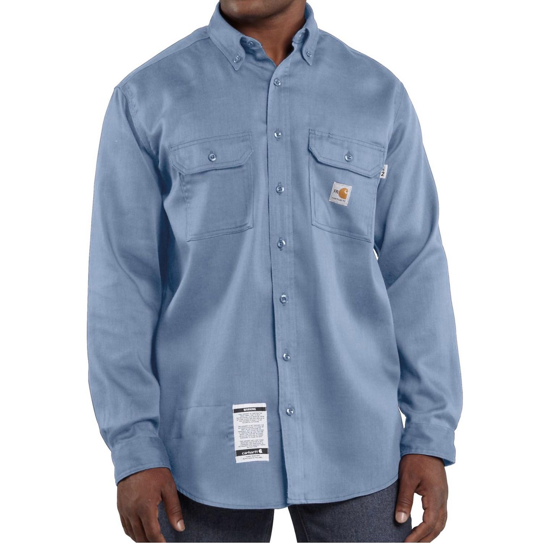 Carhartt Flame Resistant Lightweight Twill Shirt For Men