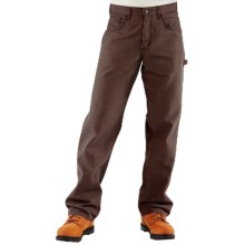 Carhartt Flame-Resistant Midweight Canvas Jeans - Loose Fit (For Men) in Dark Brown - 2nds
