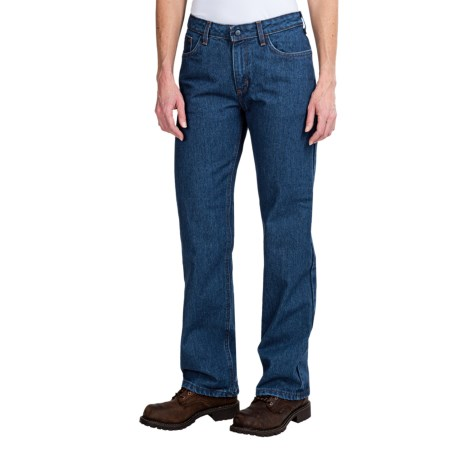 Carhartt Flame-Resistant Relaxed Fit Denim Jeans (For Women) in Denim