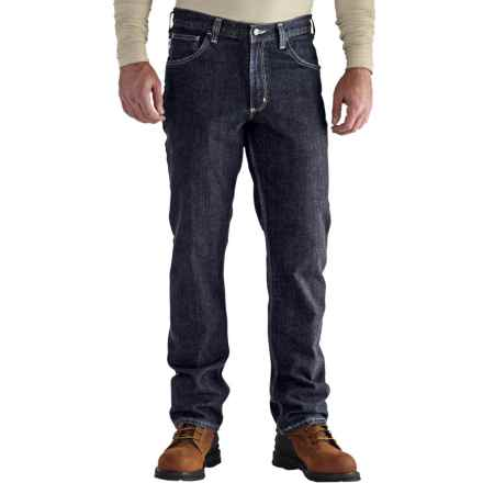 Carhartt Flame-Resistant Rugged Flex® Jeans - Factory Seconds (For Men) in Deep Indigo Wash - 2nds