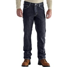 Carhartt Flame-Resistant Rugged Flex® Jeans - Straight Leg, Traditional Fit (For Men) in Deep Indigo Wash - 2nds