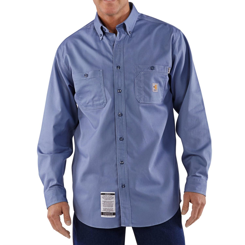 Carhartt Flame Resistant Tradesman Shirt Lightweight