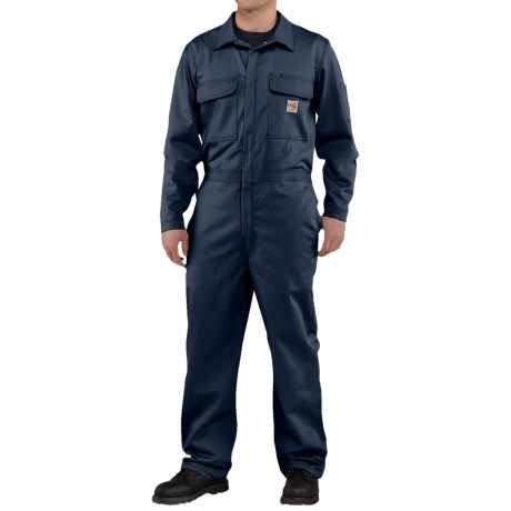 Image of Carhartt Flame-Resistant Traditional Twill Coveralls - Factory Seconds (For Men)