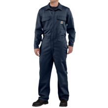 Carhartt Flame-Resistant Traditional Twill Coveralls (For Men) in Dark Navy - 2nds
