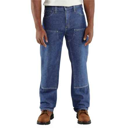 Carhartt Flame-Resistant Utility Denim Jeans - Double Front, Factory Seconds (For Men) in Midstone - 2nds