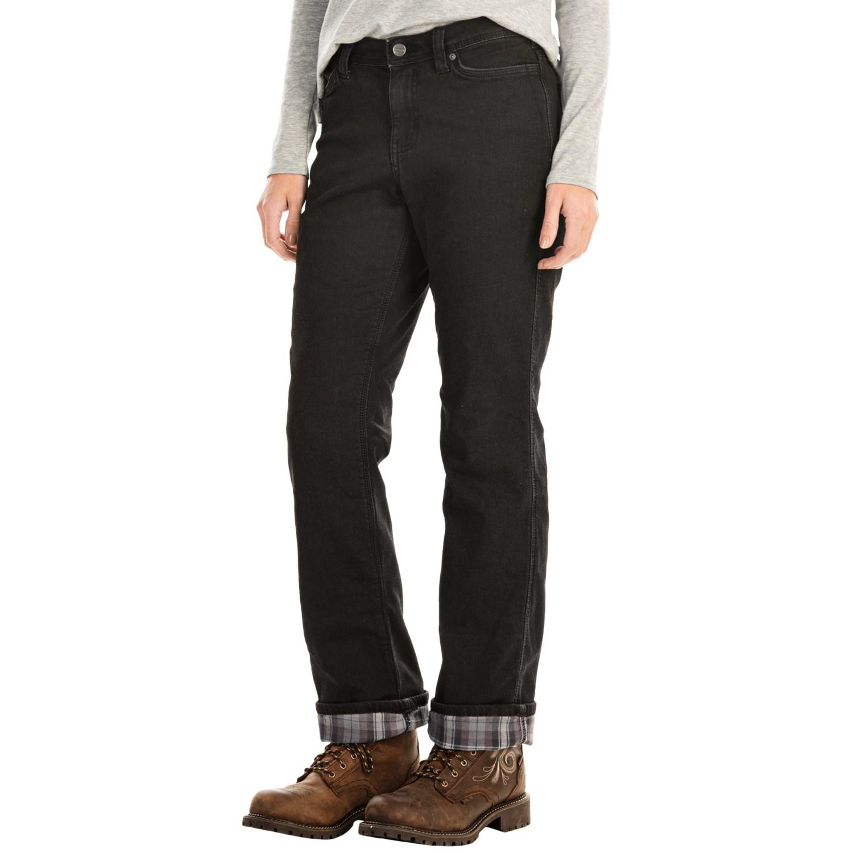 Carhartt Flannel Lined Jeans Men
