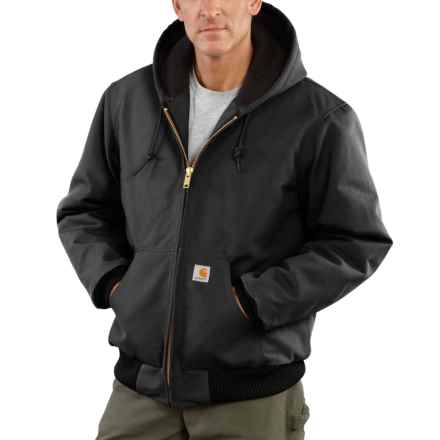 45c6947d01c50 Carhartt Flannel-Lined Duck Active Jacket - Factory Seconds (For Big and  Tall Men