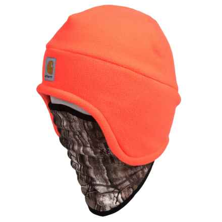 Carhartt Fleece 2-in-1 Hat/Gaiter - Factory 2nds (For Men) in Brite Orange - 2nds