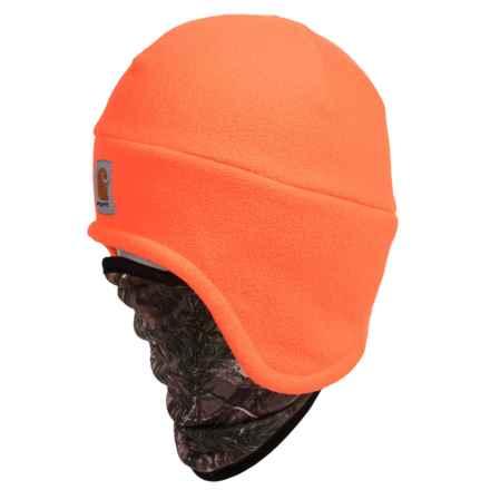 Carhartt Fleece 2-in-1 Hat/Gaiter - Factory 2nds (For Men) in Hunter Orange - 2nds