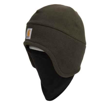 Carhartt Fleece 2-in-1 Hat/Gaiter - Factory 2nds (For Men) in Moss - 2nds