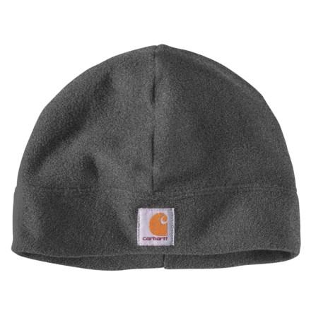 28c7d7e7c8f24 Carhartt Fleece Beanie - Factory Seconds (For Men) in Charcoal Heather -  2nds