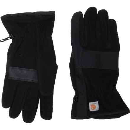 Carhartt Fleece Duck Gloves (For Women) in Black - Closeouts