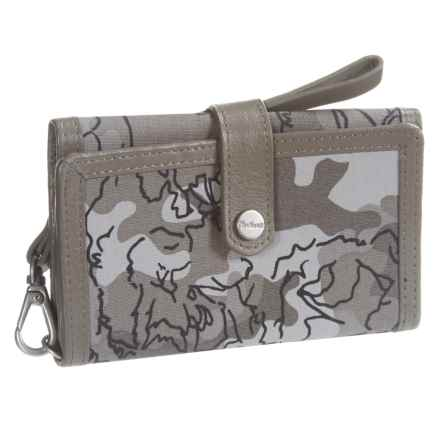 Carhartt Floral Camo Phone Clutch (For Women) in Asphalt - Closeouts
