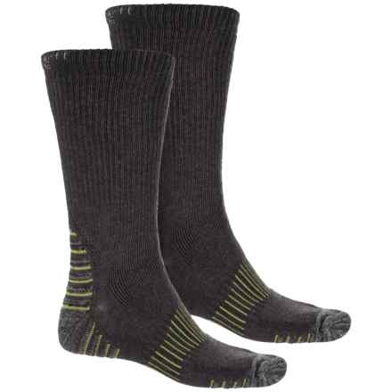 Carhartt Force® Cold Weather Socks - 2-Pack, Crew (For Men) in Green - Closeouts