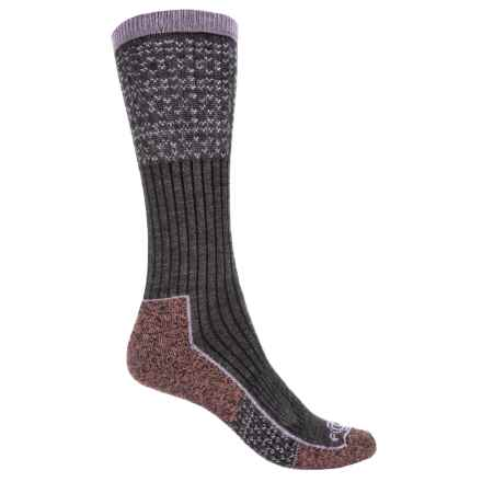 Carhartt Force® Copper Work Socks - Crew (For Women) in Charcoal Heather - Closeouts