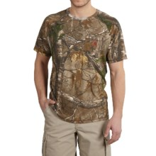 Carhartt Force Cotton Delmont Camo T-Shirt - Relaxed Fit, Short Sleeve (For Men) in Realtree Xtra - 2nds