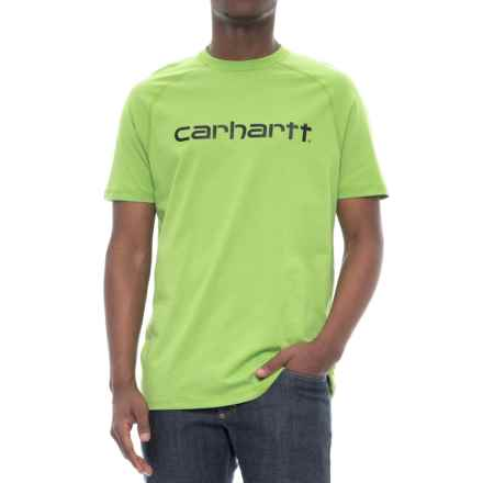 Carhartt Force® Cotton Delmont Graphic T-Shirt - Short Sleeve (For Men) in Foliage - Closeouts