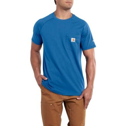 Carhartt ForceR Cotton Delmont Pocket T Shirt