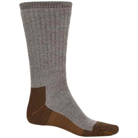Carhartt Force Cupron® FastDry® Work Socks - Crew (For Men) in Brown - Closeouts