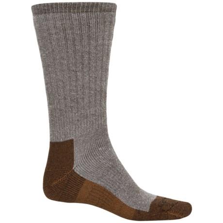 Carhartt Force Cupron® FastDry® Work Socks - Crew (For Men) in Brown