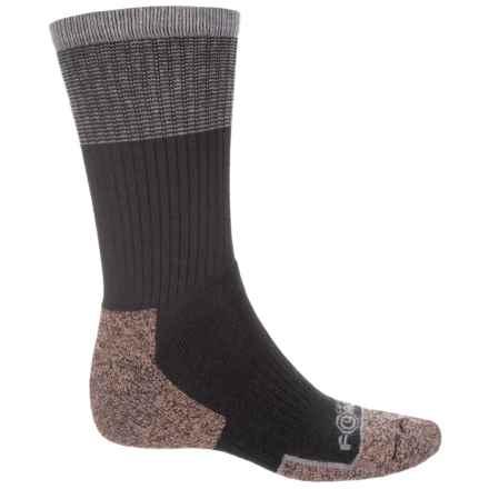 Carhartt Force® Cupron Steel Toe Socks - Crew (For Men) in Black - Closeouts