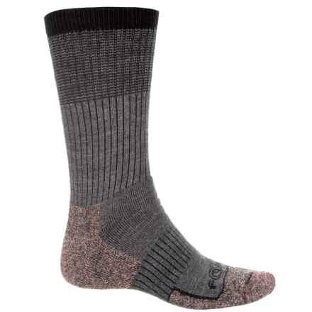 Carhartt Force® Cupron Steel Toe Socks - Crew (For Men) in Charcoal Heather - Closeouts