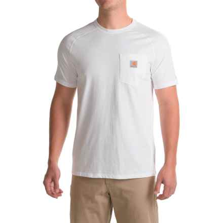 Carhartt Force Delmont Fishing Graphic T-Shirt - Short Sleeve, Factory Seconds (For Men) in White - 2nds
