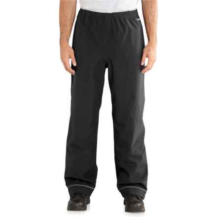 Carhartt Force Equator Pants - Waterproof, Factory Seconds (For Men) in Black - 2nds