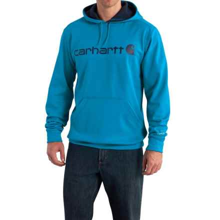 Carhartt Force Extremes Signature Graphic Hooded Sweatshirt - Factory Seconds (For Men) in Dynamic Blue - 2nds