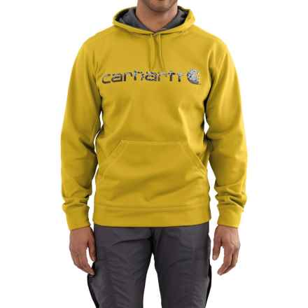 Carhartt Force Extremes Signature Graphic Hooded Sweatshirt - Factory Seconds (For Men) in Tree Frog - 2nds