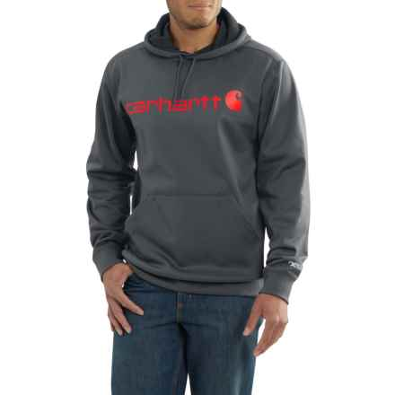 Carhartt Force Extremes® Signature Graphic Hoodie (For Big and Tall Men) in Shadow - Closeouts