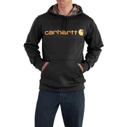 Carhartt Force Extremes® Signature Graphic Pullover Hoodie (For Men) in Black - Closeouts