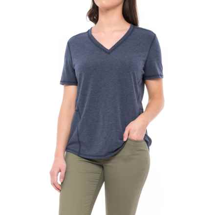 Carhartt Force Ferndale T-Shirt - Short Sleeve (For Women) in Indigo Heather - Closeouts