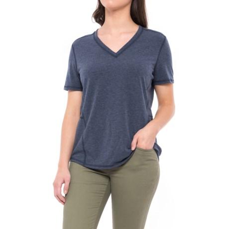 Carhartt Force Ferndale T-Shirt - Short Sleeve (For Women) in Indigo Heather