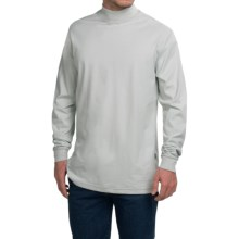 Carhartt Force® Flame-Resistant Mock Turtleneck - Long Sleeve (For Big and Tall Men) in Light Grey - Closeouts