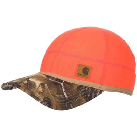 Carhartt Force® Griggs Fleece Visor Baseball Cap (For Men) in Brite Orange - Closeouts