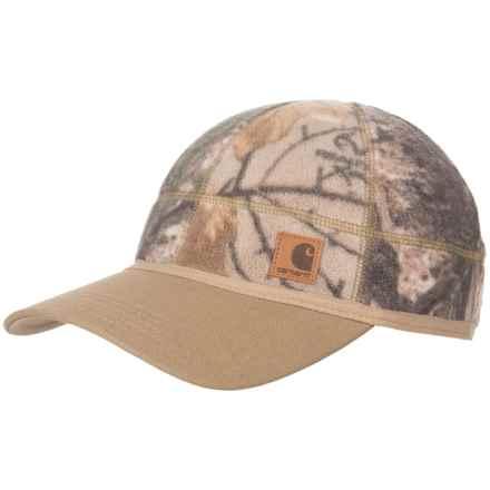 Carhartt Force® Griggs Fleece Visor Baseball Cap (For Men) in Realtree Xtra - Closeouts