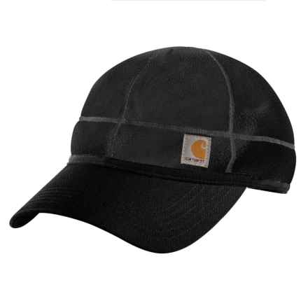 Carhartt Force Griggs Fleece Visor Cap - Factory Seconds (For Men) in Black - 2nds
