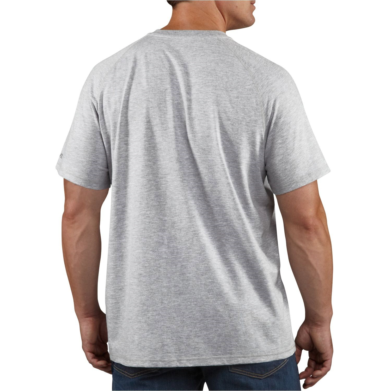 Carhartt force henley shirt for big and tall men for Mens xl tall henley shirts