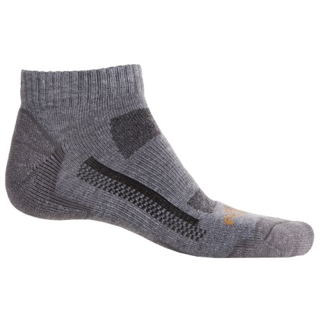 Carhartt Force® High-Performance Low-Cut Socks - Ankle (For Men) in Charcoal Heather