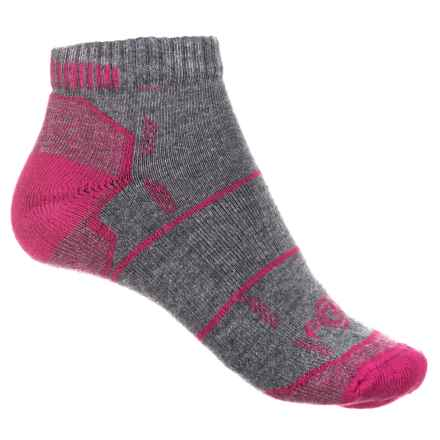 Carhartt Force® High-Performance Low-Cut Socks - Below the Ankle (For Women) in Charcoal Heather - Closeouts