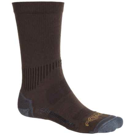 Carhartt Force High-Performance Socks - Crew (For Men) in Brown - Closeouts