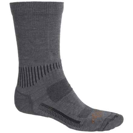 Carhartt Force High-Performance Socks - Crew (For Men) in Charcoal Heather - Closeouts