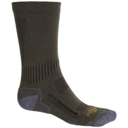 Carhartt Force High-Performance Socks - Crew (For Men) in Moss - Closeouts