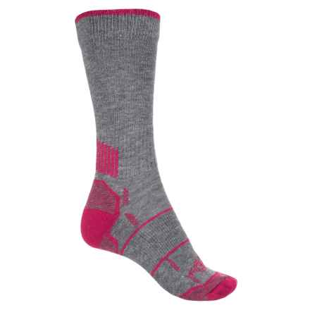 Carhartt Force® High-Performance Socks - Crew (For Women) in Charcoal Heather - Closeouts