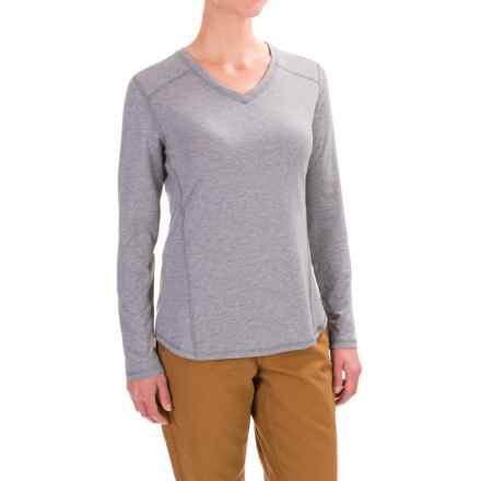 Carhartt Force High-Performance T-Shirt - Long Sleeve, Factory Seconds (For Women) in Asphalt Heather - 2nds