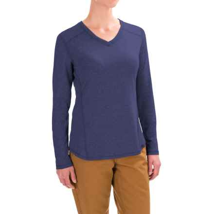 Carhartt Force High-Performance T-Shirt - Long Sleeve, Factory Seconds (For Women) in Indigo Heather - 2nds